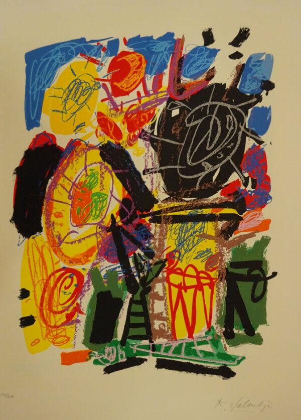 Kees Salentijn - Hommage aan van Gogh II
